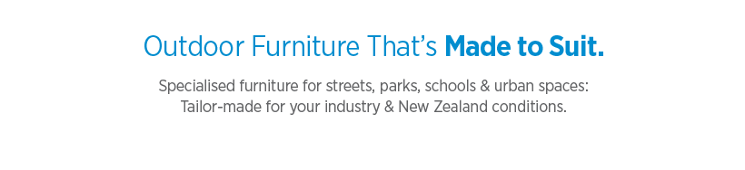 Urban Furniture NZ Street & Park Furniture Public Amenities