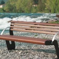 Agora Wood Seat from Urban Effects