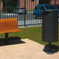 Ermes Litter Bin from Urban Effects