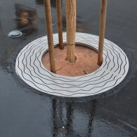 Perla Tree Grate from Urban Effects