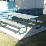 Duraform Park Table Setting from Urban Effects