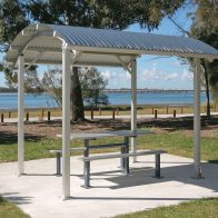 Seaside Park Shelter from Urban Effects
