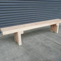 Solid Wood Bench from Urban Effects