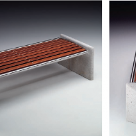 Majestic Piana Bench from Urban Effects