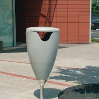 Flute Litter Bin from Urban Effects