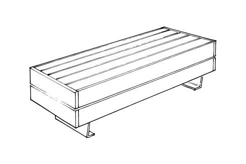 Liffiton Wide Bench