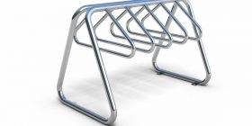 Atessa Double Sided Bike Rack