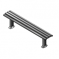 Citistyle Deluxe Bench from Urban Effects