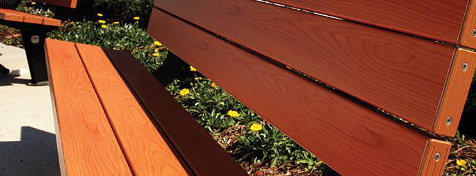Colours and Finishes for Urban Furniture