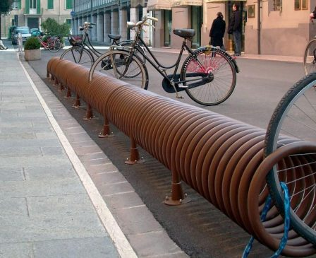 Reset bike rack