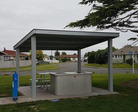 Skillion Shelter