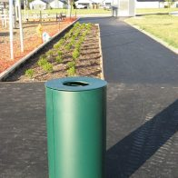 Spencer Bin Powdercoated - Round model from Urban Effects