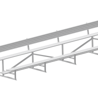 Metro 2-Tier Grandstand from Urban Effects