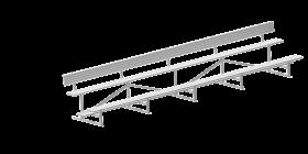 Metro 2-Tier Grandstand
