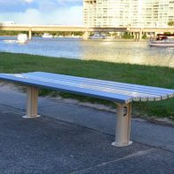 Citistyle Double Bench from Urban Effects