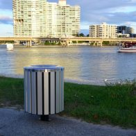 Citistyle Round Bin from Urban Effects
