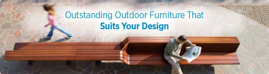 Commercial Outdoor Furniture for Architects