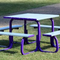 Metro 8 Seat Square Table from Urban Effects