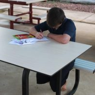 Metro Outdoor Learning Table from Urban Effects