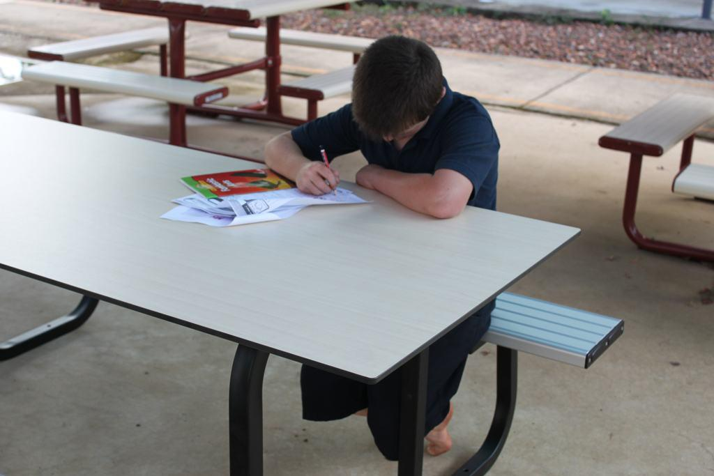 Outdoor Learning Table Street Furniture Urban Effects