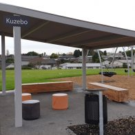 Skillion Shelter from Urban Effects