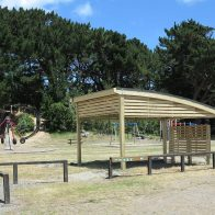 Kiwi Curved Shelter from Urban Effects