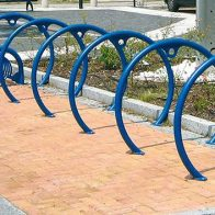 Circle Bike Rack from Urban Effects