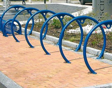 Circle Bike Rack Park Amp Street Products Urban Effects
