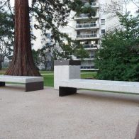 Diamante Linear Bench from Urban Effects