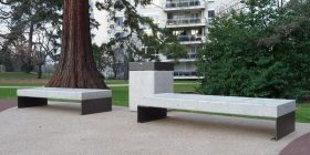 Diamante Linear Bench