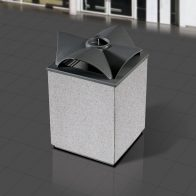 Topazio Litter Bin from Urban Effects