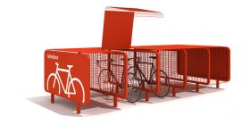Bike Box Bike Rack