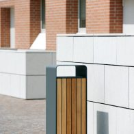 Box Litter Bin from Urban Effects