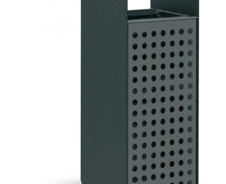 Box Iron Litter Bin - 100L