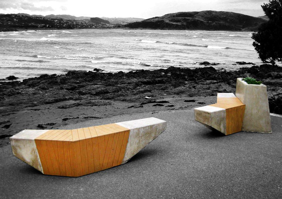 Cleverly designed street furniture