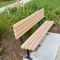 Woodlands Deluxe Park Seat from Urban Effects