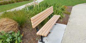 Woodlands Deluxe Park Seat