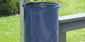Colonial Tilt Bin - Steel version