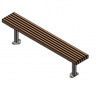 Parkvale Bench from Urban Effects