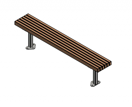 Parkvale Bench - 6 board option