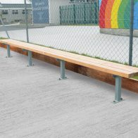 Woodlands Pine Bench from Urban Effects