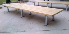 Woodlands Platform Seat