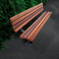 Woodlands Hardwood Seat from Urban Effects