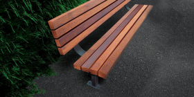 Woodlands Hardwood Seat