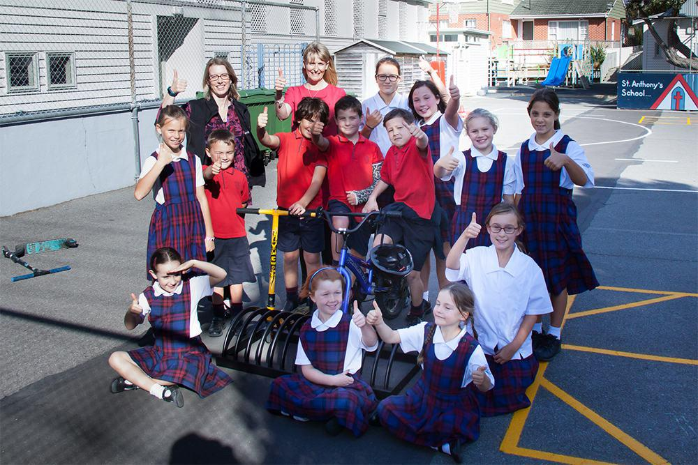 Urban Effects supports active travel for Wellington students