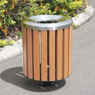 Citistyle Timber Bin from Urban Effects