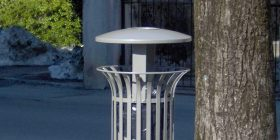 Lys Litter Bin with lid