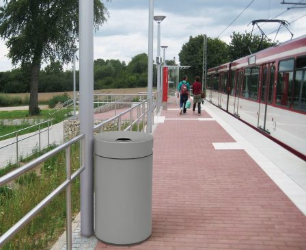 Rainless Bin - Stainless Steel