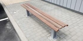 Citistyle Timber Bench
