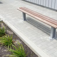 Citistyle Timber Bench from Urban Effects